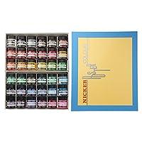 Nicker 水彩颜料 海报彩色 40ml(中瓶) 36色套装 多色