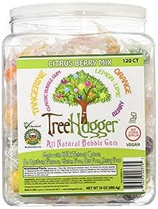 Tree Hugger Bubble Gum, Citrus Berry, 120 Count