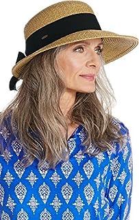 Coolibar UPF 50+ 女式不對稱式 Clara 太陽帽 - *