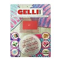 Gelli Arts 六边形印刷板迷你套件,多色 多种颜色 30.5 x 22.8 x 2 cm GL HEXAGON MINI KIT