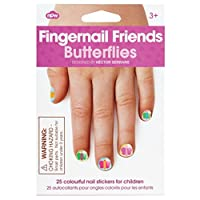 NPW-USA At The Farm Fingernail Friends *贴纸 36 months to 1200 months 蝴蝶