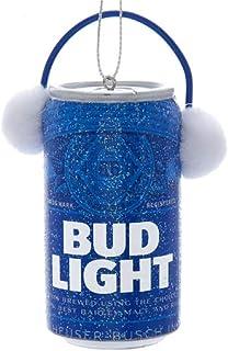 Kurt Adler Budweiser Budweiser Bud Light Can 带耳塞装饰