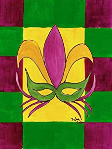 Caroline's Treasures Mardi Gras Flag Made or Printed in the USA 多色 大