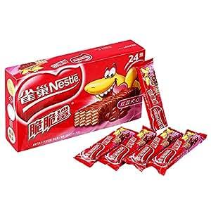 Nestle雀巢 脆脆鲨 红豆夹心威化 20g*24/盒 新老包装随机发送