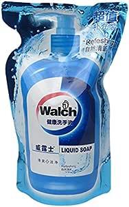 威露士 健康洗手液 525ML (清香薄荷)袋装 实惠!(6袋组合)0384