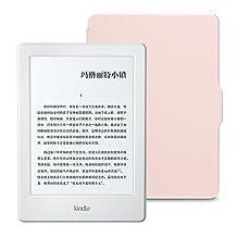 Kindle电子书阅读器 (入门版) + NuPro保护套超值套装(包含Kindle电子书阅读器入门版-白、NuPro保护套-梦幻粉)