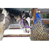 Southwestern Equine Ultra Slow Feeder Horse Hay Bag Extended Feeder Natural Grazing 石灰绿 1 英寸