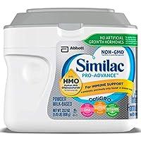 Similac 雅培 Pro-Advance Non-GMO婴儿配方奶粉(0-12个月),含2'-FL HMO,免疫支持,婴儿配方粉 658g