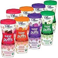 Plum Organics 泡芙多款裝,1.5盎司(42g)(8件裝)