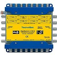 TechniSat GIGASYSTEM 17/8 K多开关,8个其他参与者,4个轨道位置