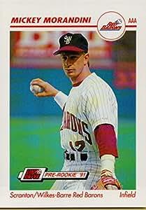棒球 MLB 1991 AAA #491 Mickey Morandini