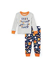 The Children's Place Baby Boys' Two Piece Pajama Set