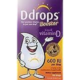 Ddrops 婴幼儿维生素D3滴剂 600 IU 100滴