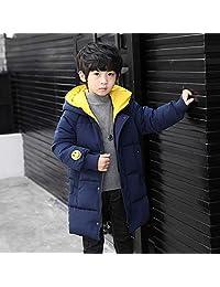 夷榀 男童羽绒棉服2018新款冬装童装棉袄加厚大儿童中长款男孩棉衣外套