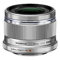 Olympus 奥林巴斯 M.ZUIKO DIGITAL 25mm F1.8 标准定焦镜头(银色)(人像、静物、风景等多个场景 高画质)