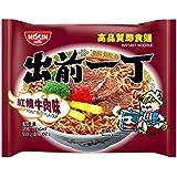 出前一丁高品质即食方便面红烧牛肉味100g*6(香港进口)