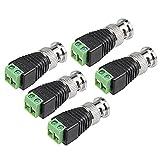 银色 BNC 类型 RF 同轴连接器耦合器适配器