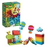 LEGO 乐高 拼插类玩具 得宝系列 10887 我的自由创意趣玩箱 1½+岁 积木玩具
