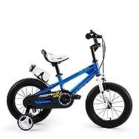 ROYALBABY 优贝 12寸儿童自行车表演车蓝色2-4岁萌宝礼物(亚马逊自营商品, 由供应商配送)