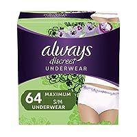 Always discreet 尿*内裤适用于女式*保护 Small / Medium 64 64