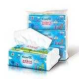 Caress 凯瑞丝 宝宝超柔面巾纸三层120抽*3 P810533001(亚马逊自营商品, 由供应商配送)