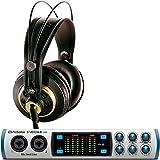 Presonus Studio 68 音频接口带 AKG K240 工作室耳机