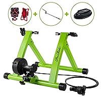 Proride Bike Trainer Stand 室内运动自行车磁性支架,带自行车手机支架