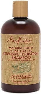 SheaMoisture 麦卢卡蜂蜜和摩夫拉油密集保湿洗发水 340 克 13 oz