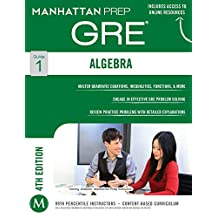 Algebra GRE Strategy Guide (Manhattan Prep GRE Strategy Guides Book 1) (English Edition)