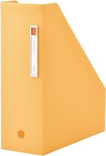 LIHIT LAB. 文件夹 竖型 noie-style A4 橙色