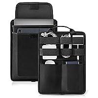 Tomtoc 电子配件整理板,适用于电缆硬盘 USB 集线器移动电源,适用于 13 英寸新款 MacBook Air & Pro,Surface Pro 6/5/4,9.7-11 英寸 iPad