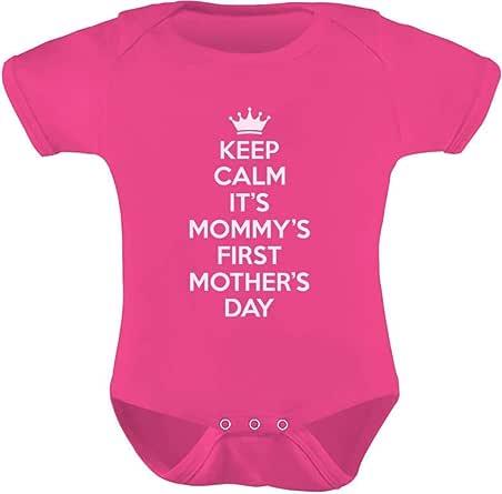 母亲节礼品 KEEP CALM It's mommy's *一母亲节婴幼儿宝宝连体衣