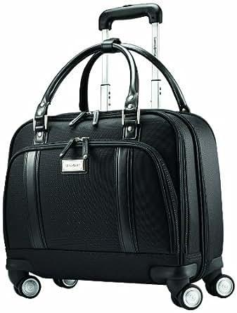 Samsonite Luggage Women's Spinner Mobile Office 黑色 16 Inch buy 1 get 4 free
