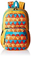 American Tourister Hashtag Yellow Casual Backpack (Hashtag 01_8901836130799)