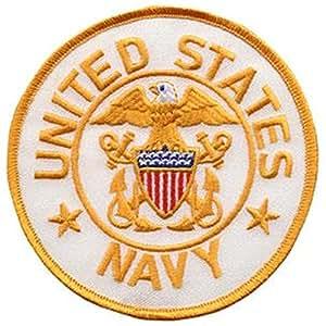 U.S. NAVY Emblem - 4 inch Circle Patch