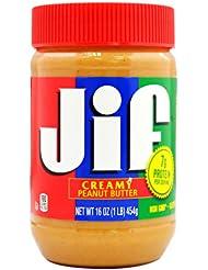 中国亚马逊: 积富(JiF) 颗粒型花生酱 454g 美国进口 ¥20