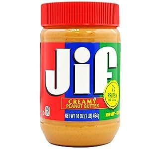 JIF 积富 花生酱(柔滑型)455g(美国进口)
