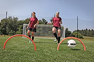 Kwik Goal, Ltd 训练拱(4 件套)36.83 厘米 x 63.5 厘米高可视橙色