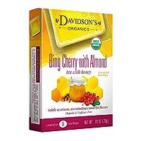 Davidson Tea bing Cherry 杏仁色,8 只茶袋(12 包)