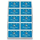 Cow牛牌 蓝盒香皂 10块装 (85g×10块)