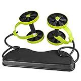 Revoflex Xtreme 高级腹部肌肉锻炼家庭训练器,黑色