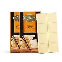 Caffarel 口福莱 排装香草味白巧克力100g*2(意大利进口)(亚马逊自营商品, 由供应商配送)