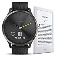 【Garmin+Kindle超值组合】Garmin 佳明 vivomove HR 中性 运动版 + Kindle电子书阅读器
