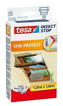 tesa 德莎 飞蚊格栅,适用于屋顶窗,tesa 质量,1.2米x 1.4米 银白色 1,2m x 1,4m