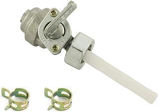 DZS Elec 燃油关闭阀,带 2 个软管夹 16mm x 1.5mm 螺母螺纹 适用于发电机燃油箱更换阀内螺纹泵