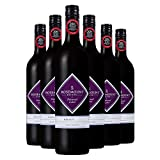 ROSEMOUNT 若诗庄园 奔富同门  钻石标梅洛干红葡萄酒 750ml*6 整箱装(澳洲进口红酒) (新老包装、年份随机发货,品质不变)