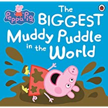 Peppa Pig: The BIGGEST Muddy Puddle in the World Picture Book (English Edition)