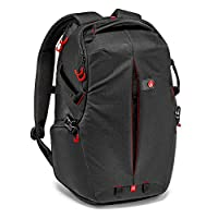 Manfrotto 背包附带 Pro Light 收藏 スリングバックパック 滤清器套三脚安装可 PC 空间有黑色  黑 19.7L