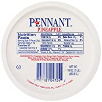 Pennant 楔形菠萝, 16盎司(452.8克)