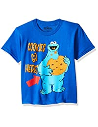 Sesame Street 男童甜饼怪 T 恤